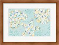 Seaside Blossoms V Fine Art Print