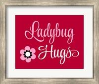 Ladybug Hugs Fine Art Print