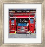 Fire House Fine Art Print
