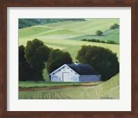 Five Mile Rd Spring Wheat Fine Art Print