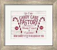 Candy Cane Factory Fine Art Print