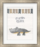 Later Alligator Fine Art Print