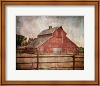 York Road Barn Fine Art Print