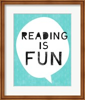 Reading is Fun Fine Art Print