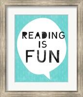 Reading is Fun Fine Art Print
