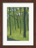 Spring Woods Dark Green Fine Art Print