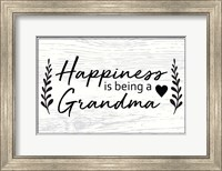 Happiness is Being a Grandma Fine Art Print