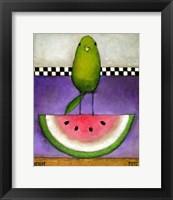 Watermelon Bird Fine Art Print