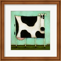 Turquoise Cow Fine Art Print