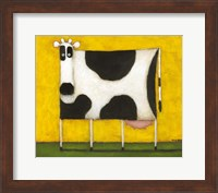 Yellow Cow Fine Art Print