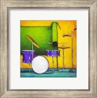 Drum Dog Fine Art Print
