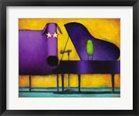 Piano Glam Dog Fine Art Print