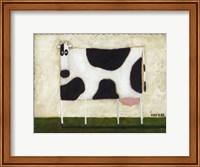 White Cow Fine Art Print