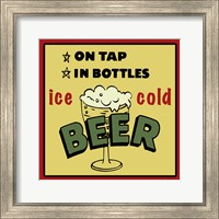 Ice Cold Beer Fine Art Print