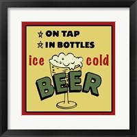 Ice Cold Beer Fine Art Print