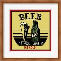 Cold Beer Fine Art Print