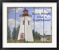 Shine Bright Lighthouse Fine Art Print