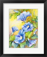 A Morning Glory Vine Fine Art Print