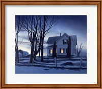 November Twilight Fine Art Print