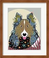 Rough Collie Fine Art Print
