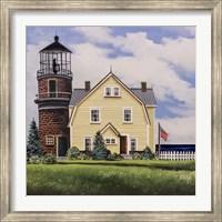 Yellow Lighthouse Fine Art Print