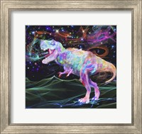 Rainbow Trex 2 Fine Art Print
