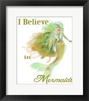 I Believe In Mermaids 2 Fine Art Print