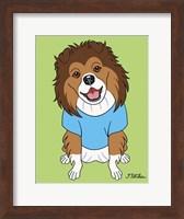 Shetland Sheepdog Fine Art Print