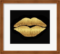 Gold Leaf Kiss Fine Art Print