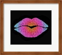 Rainbow Sugar Lips Fine Art Print