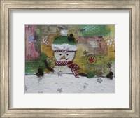 Snowman Fun Fine Art Print