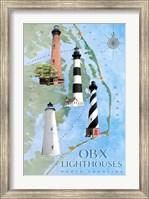 OBX Lighthouses Fine Art Print