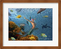 Mermaid Time Fine Art Print