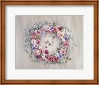 Hummingbird Wreath Fine Art Print