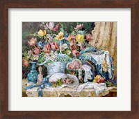 Victorian and Lace Collectables Fine Art Print