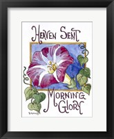 Heaven Sent Mornning Glory-Seed Packet Fine Art Print