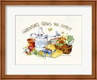 Gardening Grows Fine Art Print