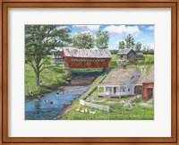 New Enlgland Homestead Fine Art Print