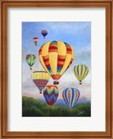 Sunrise Balloons Fine Art Print