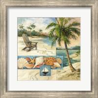 Seaside Collage I Fine Art Print