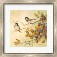 Birds of Autumn I Fine Art Print