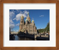 Church of the Savior on Blood, St. Petersburg, Russia Fine Art Print