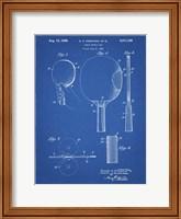Blueprint Ping Pong Paddle Patent Fine Art Print
