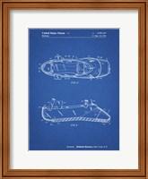 Blueprint Ballet Slipper Patent Fine Art Print