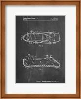 Chalkboard Ballet Slipper Patent Fine Art Print