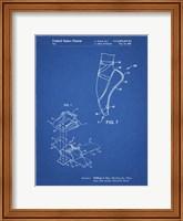 Blueprint Ballet Shoe Patent Fine Art Print