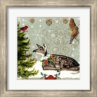 Winter Fawn Fine Art Print