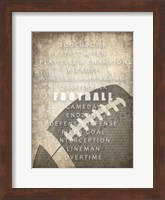 Sports a Way of Life 3 Fine Art Print