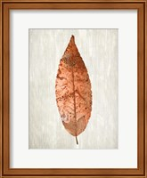 Copper Leaves 1 Fine Art Print