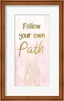 Follow Your Own Path Fine Art Print